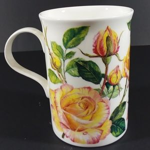 Lascelles yellow rose china cup